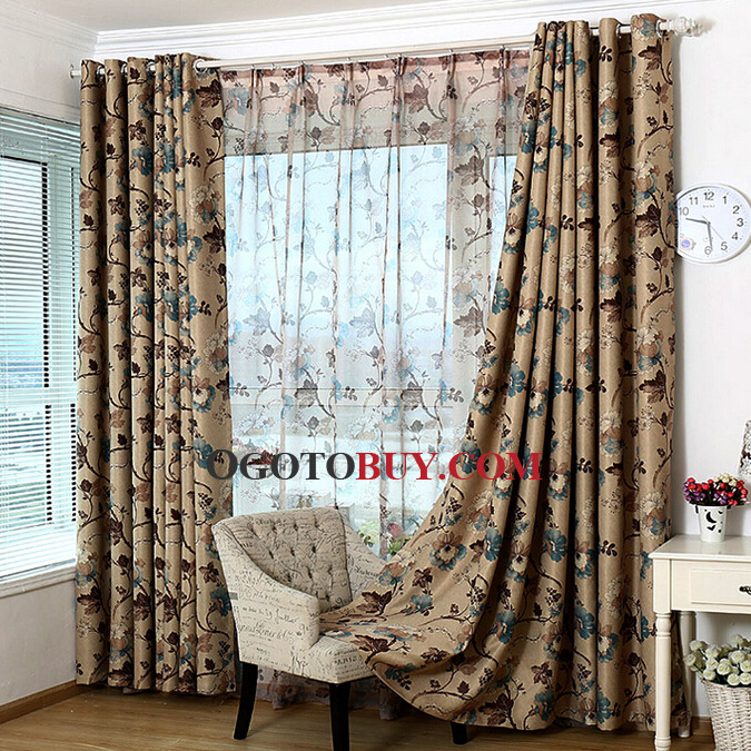 69 vintage polyester fabric printed floral country curtain   Country  Curtains For Living Roomdesigned redwhite plaid country curtains for living room  full  . Living Room Country Curtains. Home Design Ideas