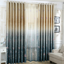 Insulated and Light Absorption Thermal Poly/Cotton Blackout Curtain