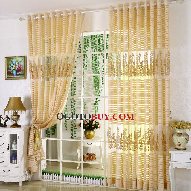 ... Gold Sheer Curtain. Loading Zoom