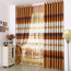 Fantasy and Dreamy Yellow and white Polyester Blackout Striped kids Curtain