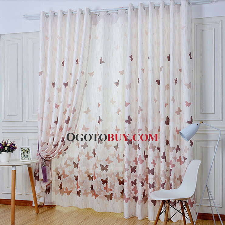 Eco-friendly Linen and Cotton Blended Fabric Decorative Butterfly ...