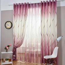 Durable and Environmental Poly/Cotton Blend Fabric Violet Purple Curtain