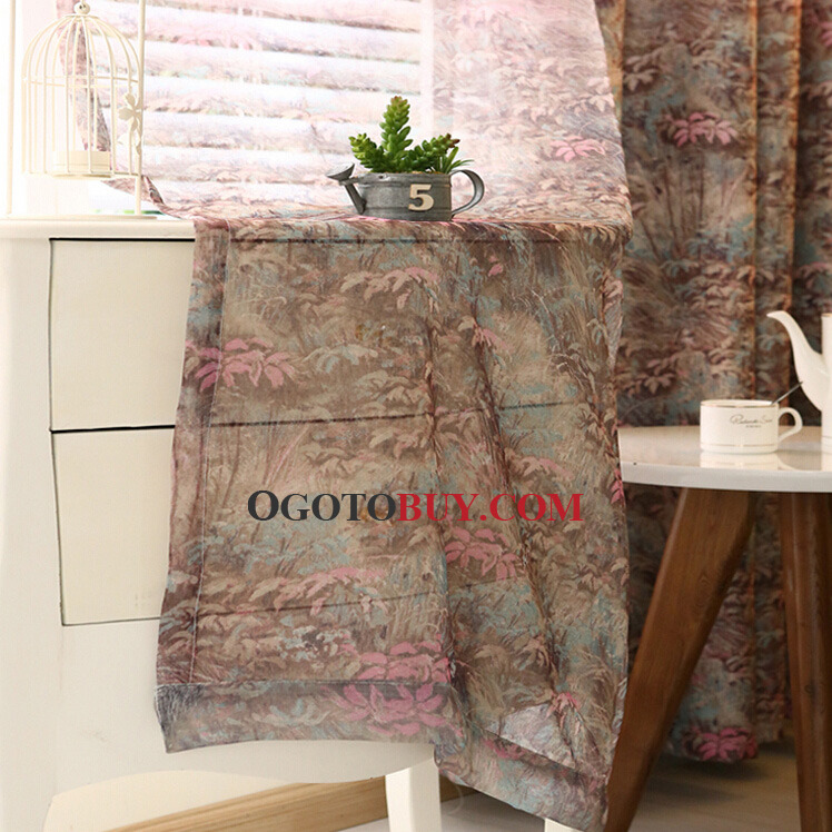 primitive fabric for curtains rooms