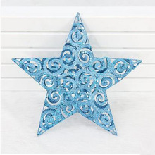 "11.8"" Diameter Blue Star Xmas Decoration"