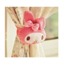 Pink Rabbit Shape Curtain Tie Backs (One Piece)
