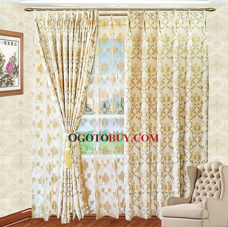 patterned curtains for living room.  Living Room Curtains Loading zoom Classic Pattern Yellow Color Linen Cotton