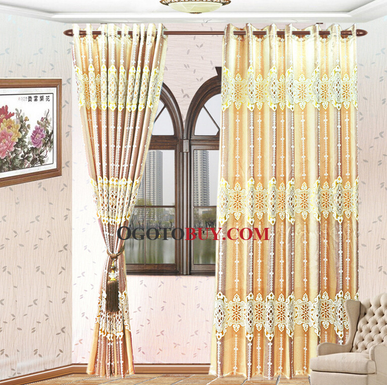 patterned curtains for living room.  Pattern Jacquard Living Room Curtains Loading zoom Luxury Gold Paisley