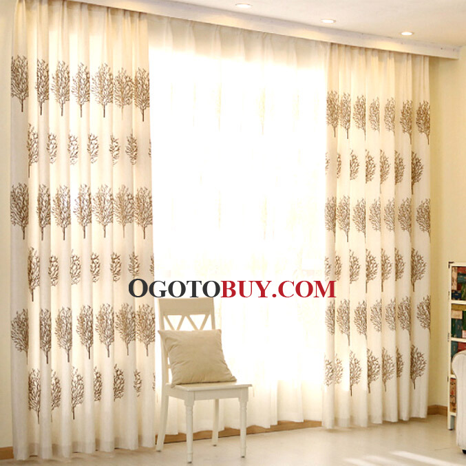 loading zoom high quality linencotton country style curtains