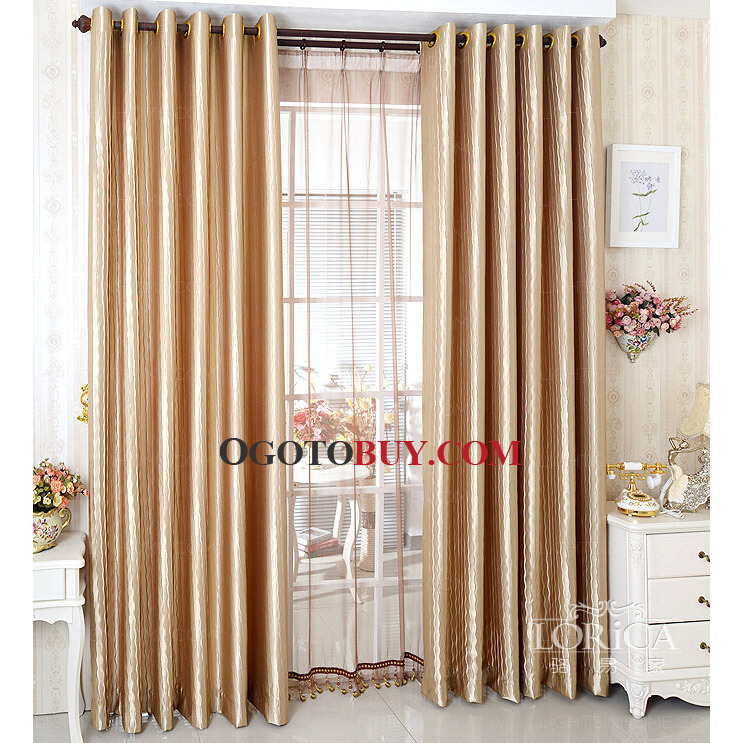 luxury living room curtains.  Living Room Curtains Loading zoom Luxury Crepe Champagne Color Thick Simple
