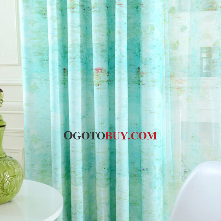 ... Country Style Decorative Linen/Cotton Bright Blue Kids Room Curtains ...
