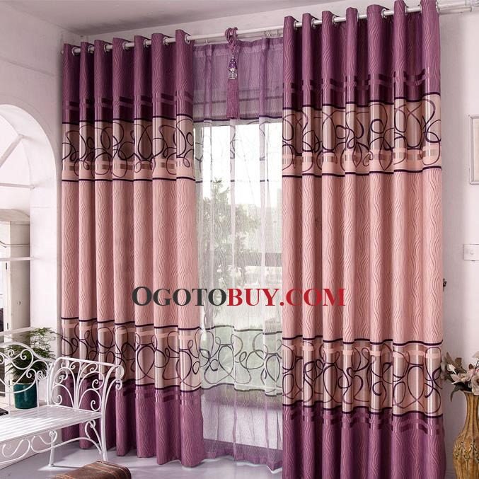 color block geometric insulated cheap blackout curtains loading zoom