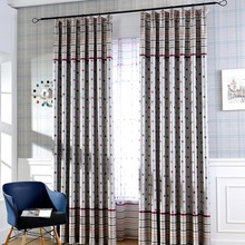 Red Polka Dots Cute Energy Saving Curtains