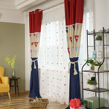 Funky Star Mediterranean Curtains for Kids Room