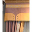 European Purple Embroidery Poly Cotton Blackout Curtains For Living Room (No Valance)