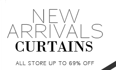 New arrivals curtains.All store up to 69% off!